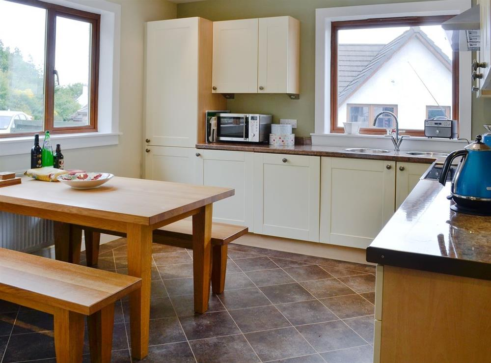 Kitchen/diner at HillView House in North Kessock, near Inverness, Inverness-Shire
