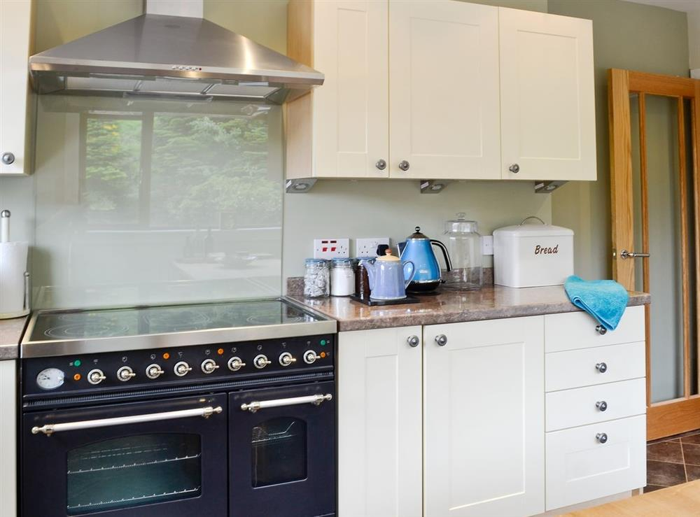 Kitchen at HillView House in North Kessock, near Inverness, Inverness-Shire