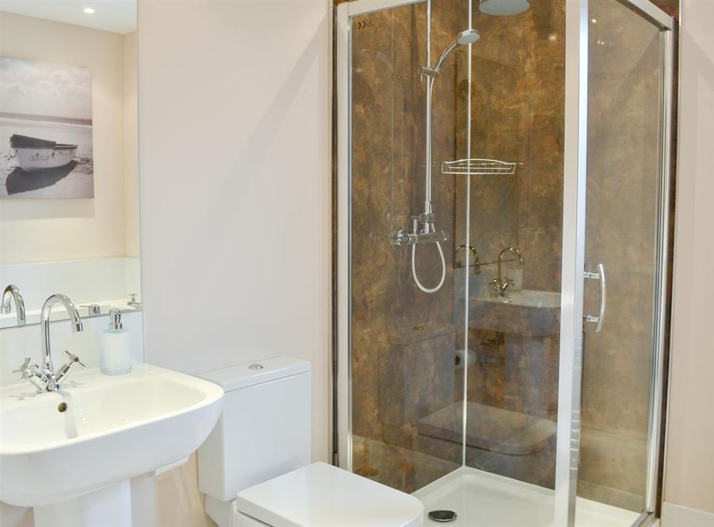 Shower room at HillView House in North Kessock, near Inverness, Inverness-Shire