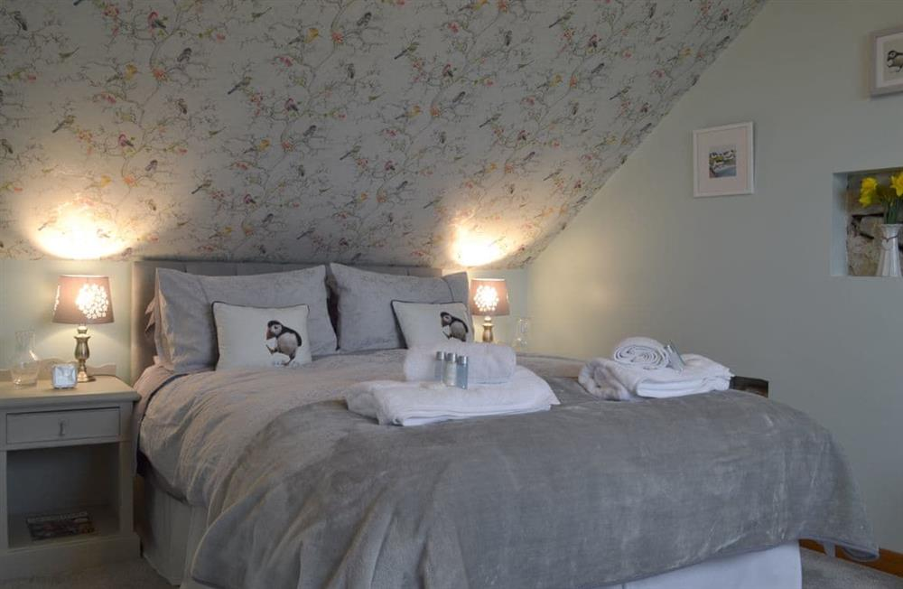 Double bedroom at Hippos Rest in Harriseahead, Staffordshire