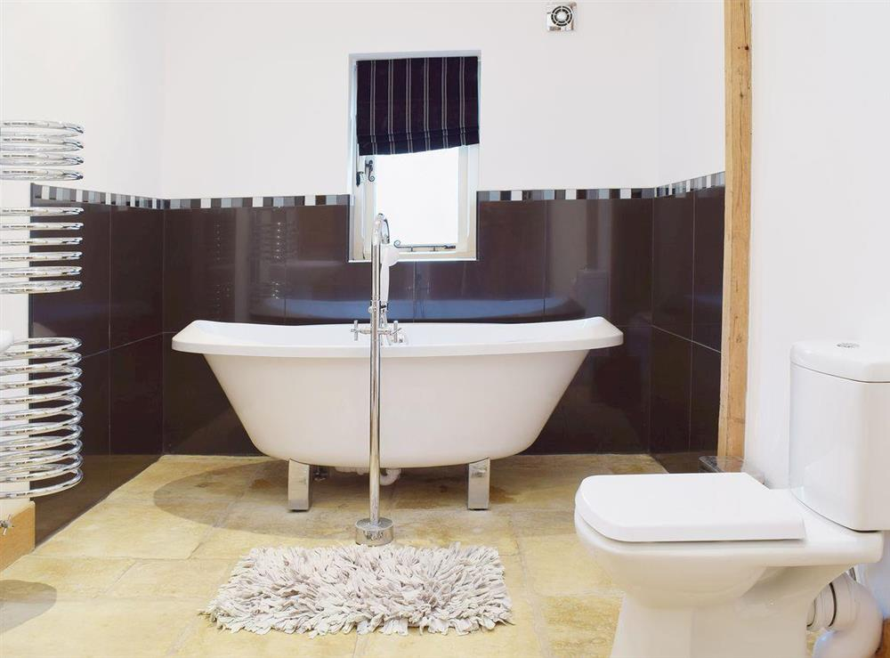 Bathroom at Hobland Barn in Bradwell, near Gorleston, Norfolk