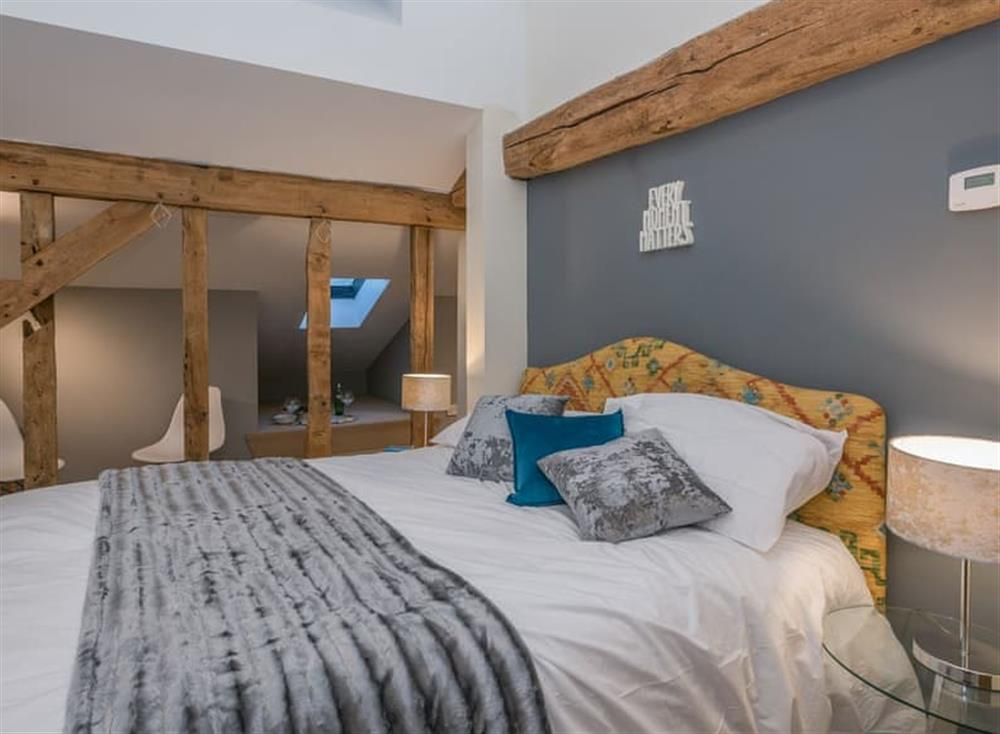 Double bedroom at Holly Barn in Tacolneston, near Wymondham , Norfolk