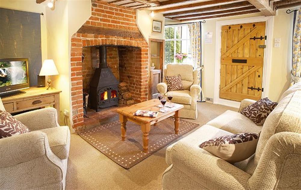 Ground floor: Sitting room at Holly Cottage, Huntingfield