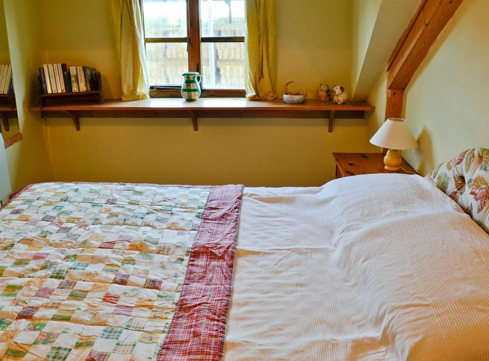 Double bedroom at The Oat Store,