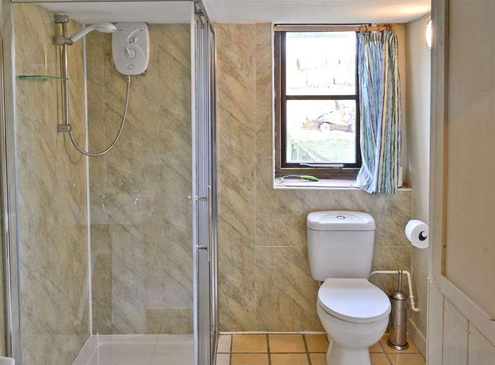 Shower room at The Oat Store,