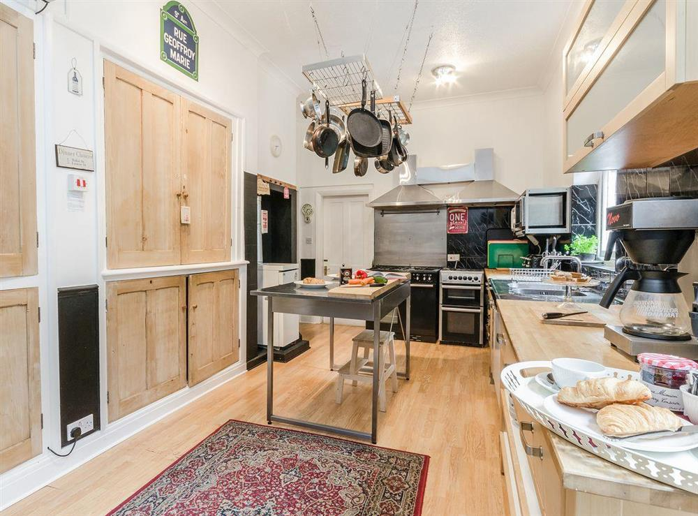 Kitchen at Holmefield House in Darley Dale, near Matlock, Derbyshire