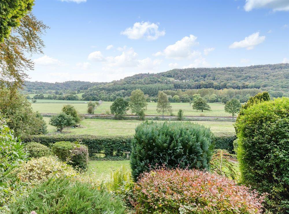 Views at Holmefield House in Darley Dale, near Matlock, Derbyshire