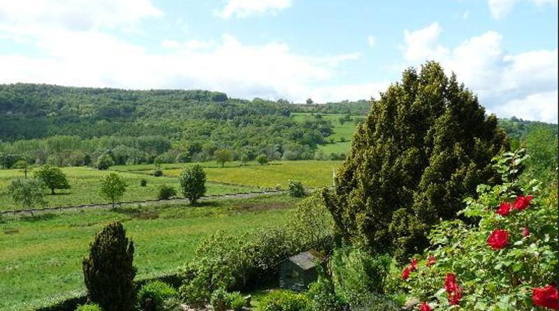 Views at Holmefield House in Darley Dale, near Matlock