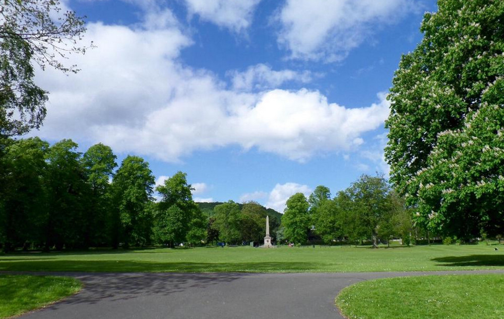 Whitworth Park in Darley Dale at Holmefield House in Darley Dale, near Matlock