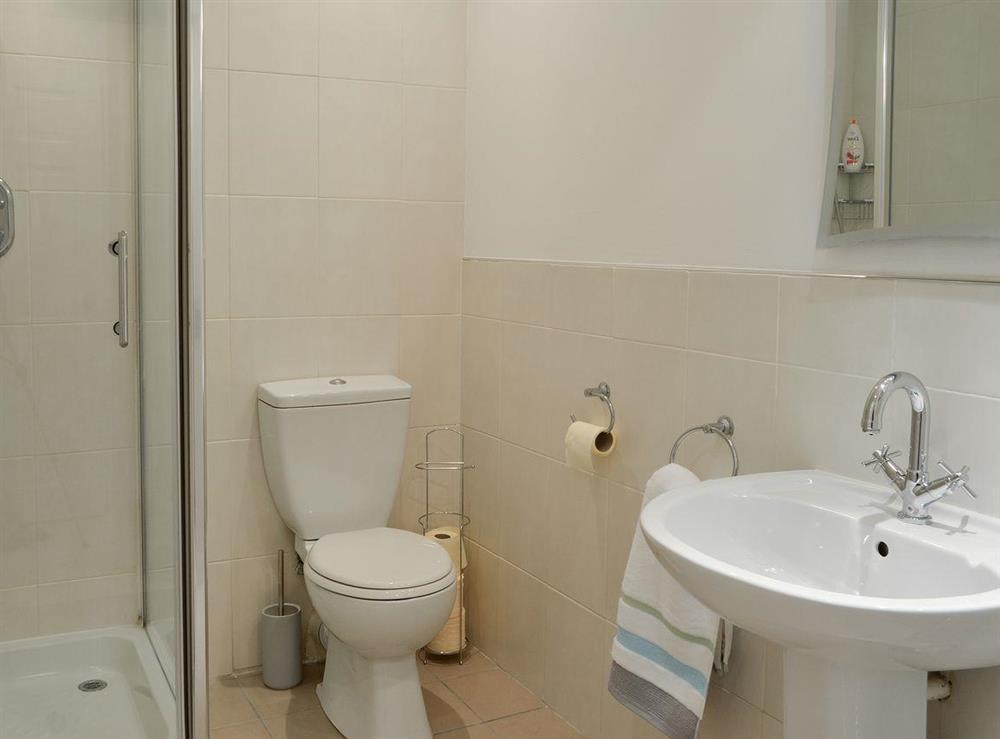 Shower room at Doon Cottage,