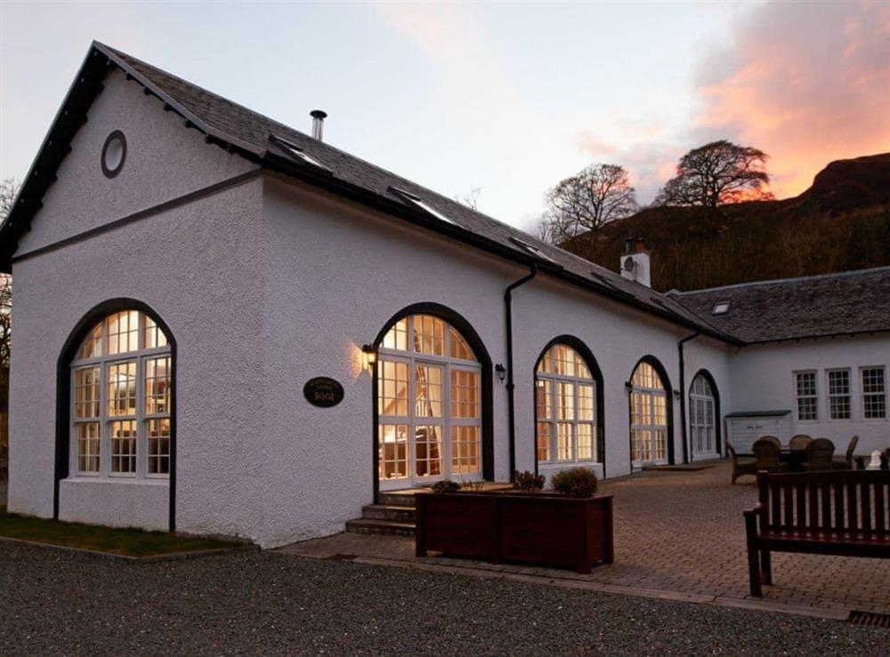 Exterior at Glendaruel Lodge,