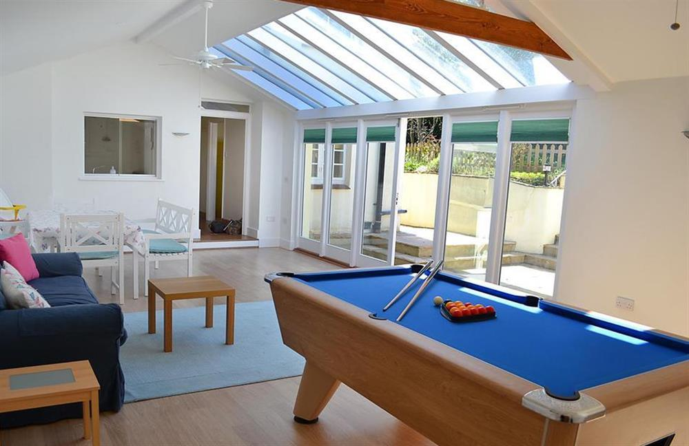 Another view of the garden room at Homelands, Dittisham