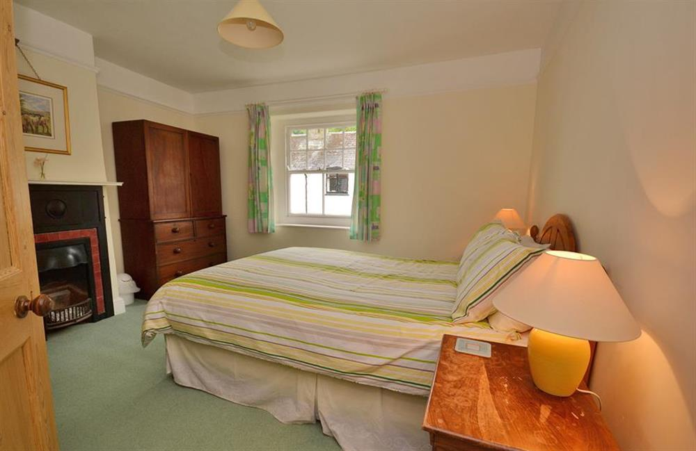 The first floor master bedroom at Homelands, Dittisham
