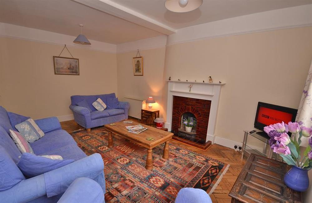 The sitting room at Homelands, Dittisham
