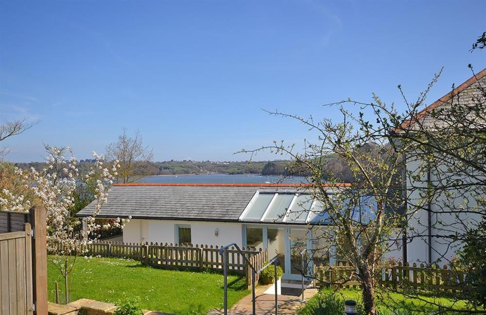 View of the River Dart from the garden at Homelands, Dittisham
