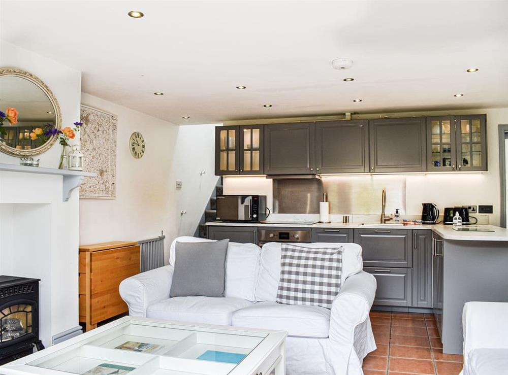 Open plan living space at Homestead Cottage in Shipston On Stour, Warwickshire