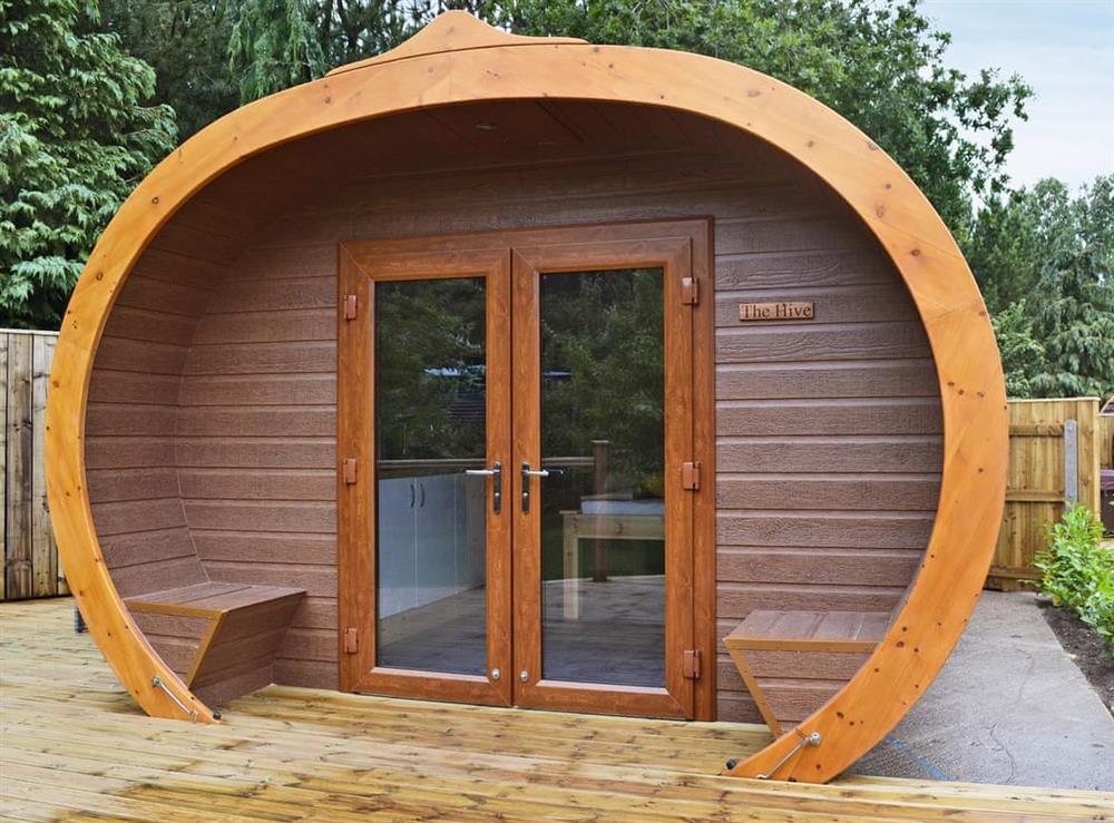 Unique, contemporary pod at The Hive,