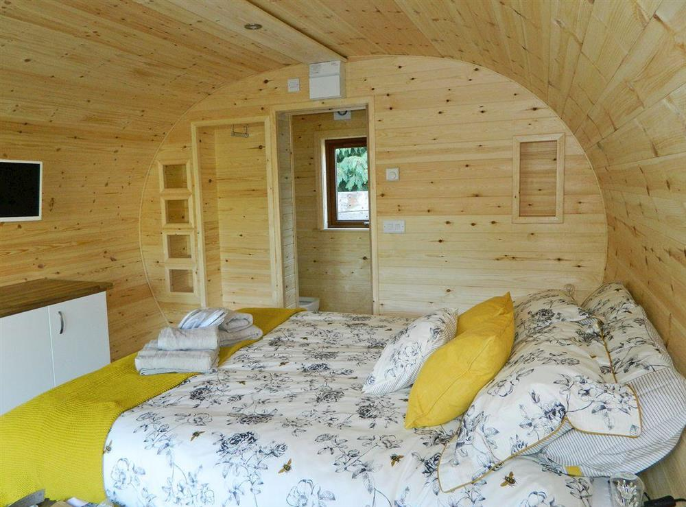 Comfortable bedroom area at The Honeypot,