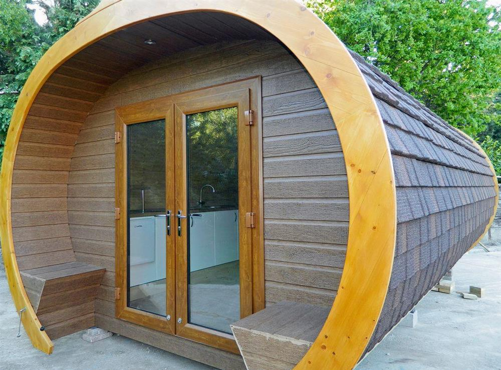 Unique, contemporary pod at The Honeypot,