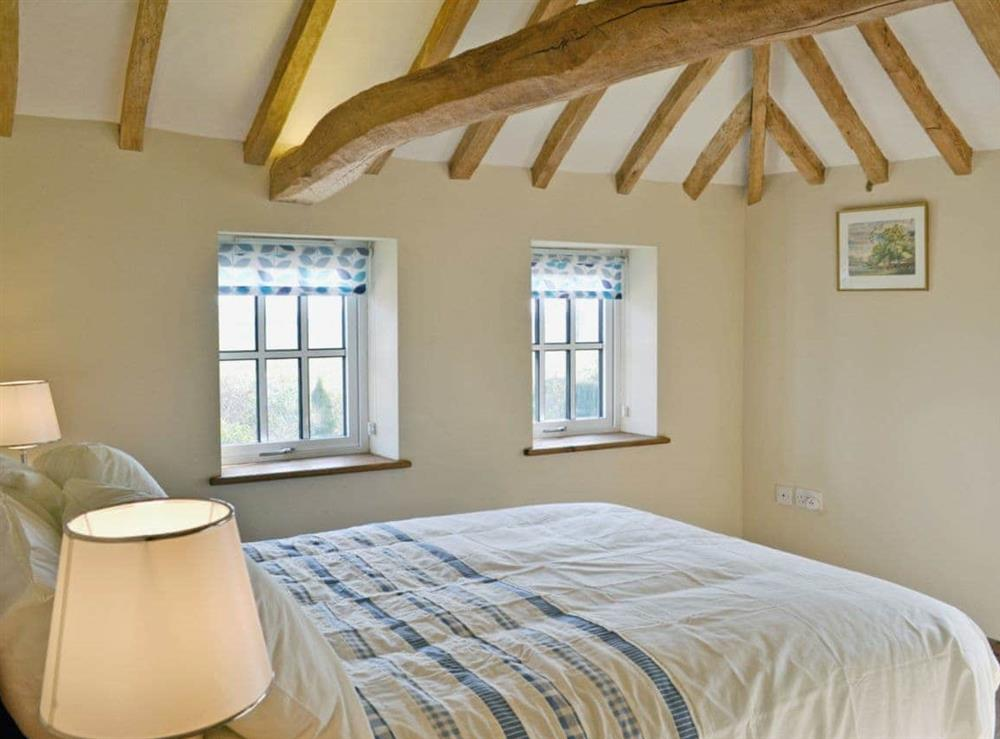 Double bedroom at Honeypot Cottage in Metfield, near Harleston, Suffolk