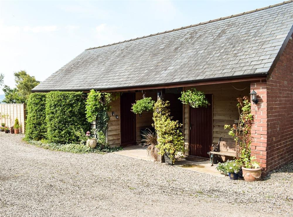 Exterior at Hop Kiln Barn in Mansell Gamage, Herefordshire