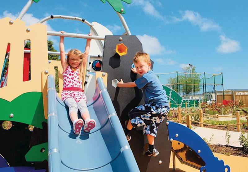 Children's playb area at Hopton Holiday Village in Hopton–on–Sea, Norfolk