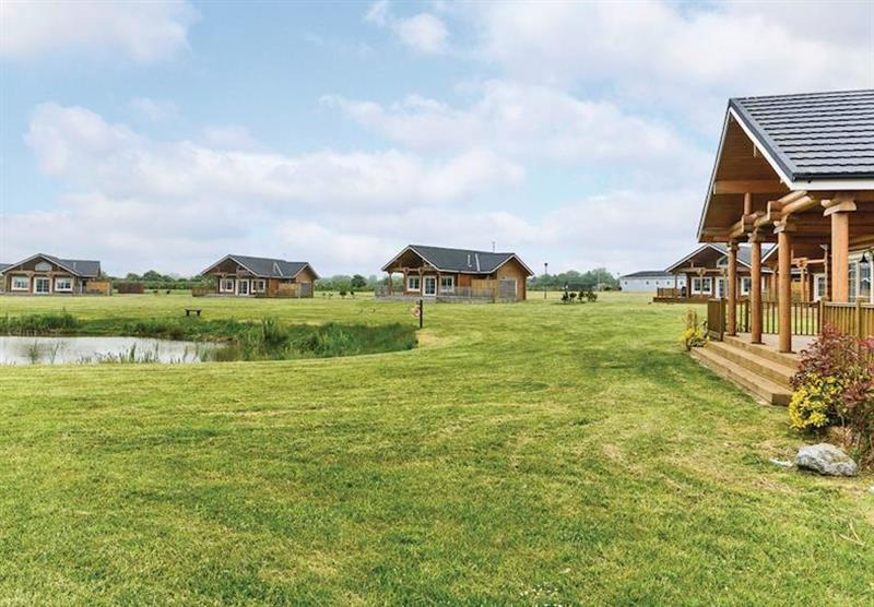 The park setting (photo number 10) at Hornsea Lakeside Lodges in , Hornsea