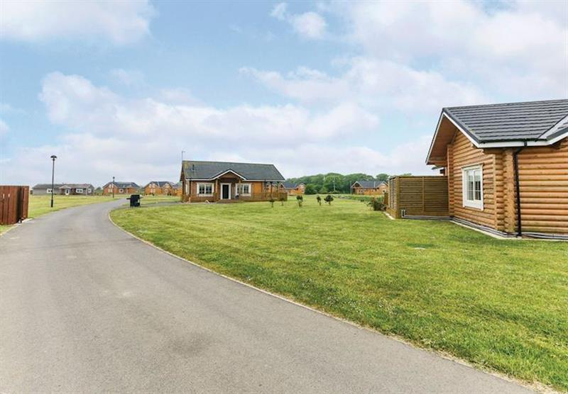 The park setting (photo number 2) at Hornsea Lakeside Lodges in , Hornsea
