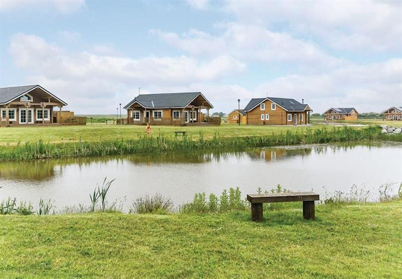 The park setting (photo number 6) at Hornsea Lakeside Lodges in , Hornsea