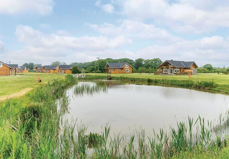 The park setting (photo number 7) at Hornsea Lakeside Lodges in , Hornsea
