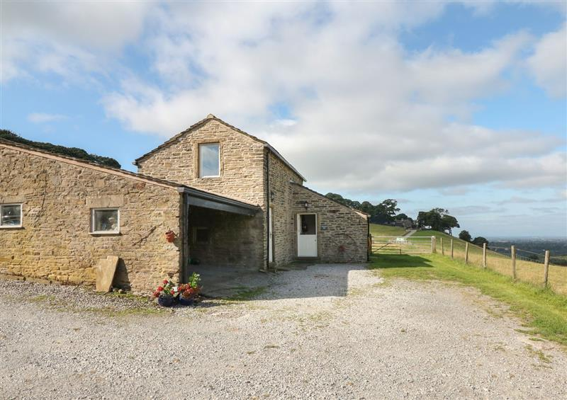 The setting at Horsepool Cottage Barn, Mellor near Marple Bridge