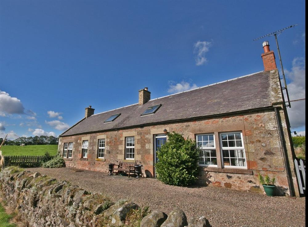 Photo 1 at Horseshoe Cottage in Duns, Berwickshire