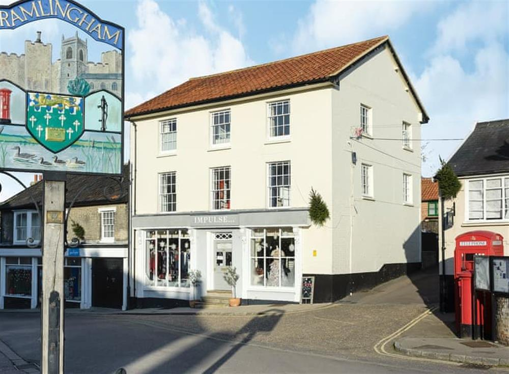 Delightful, first floor apartment in a Victorian bu at House on the Hill in Framlingham, Suffolk