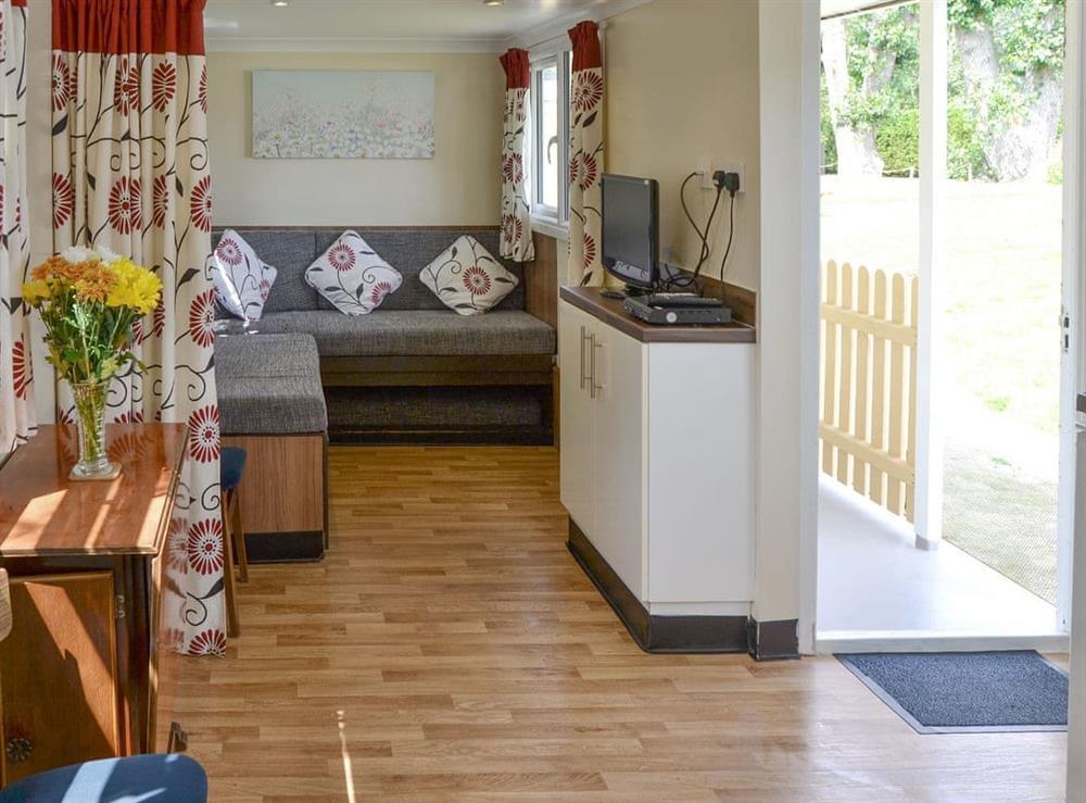 Convenient open-plan living space at Halcyon,