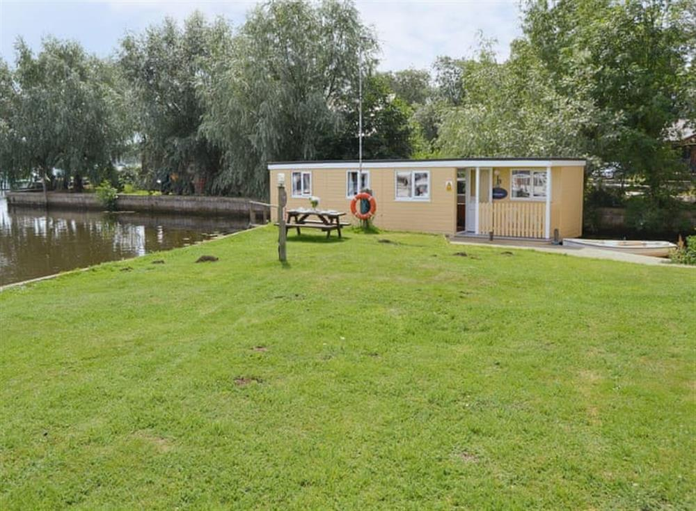 Lawned recreation area at Halcyon,