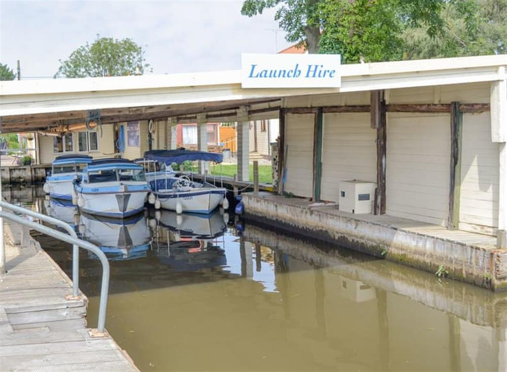 Local boat hire at Halcyon,