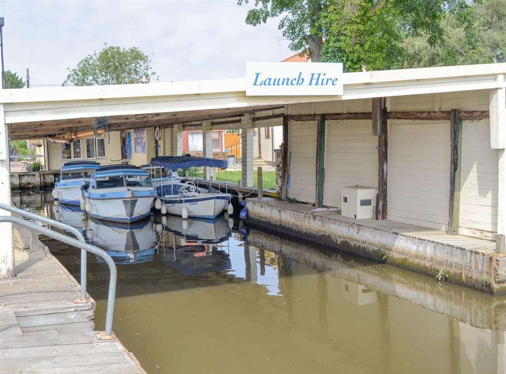 Local boat hire at Maud,