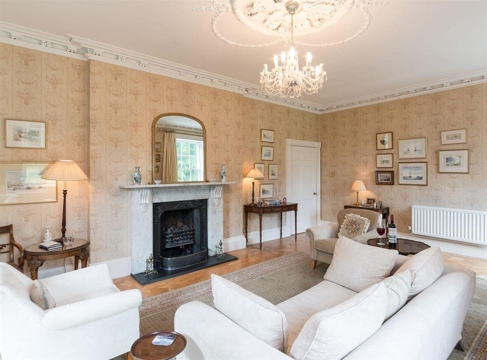 Drawing room at Howe Villa in Richmond, North Yorkshire