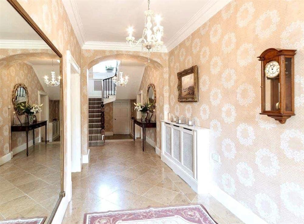 Hallway at Howe Villa in Richmond, North Yorkshire