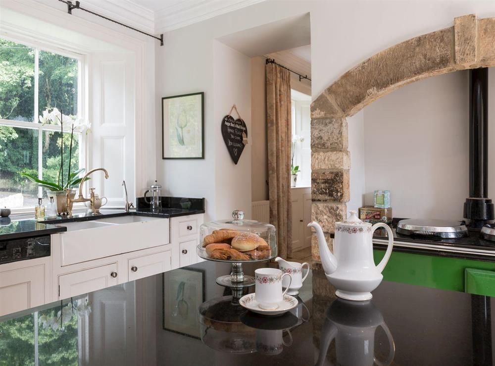 Kitchen with range cooker (photo 2) at Howe Villa in Richmond, North Yorkshire
