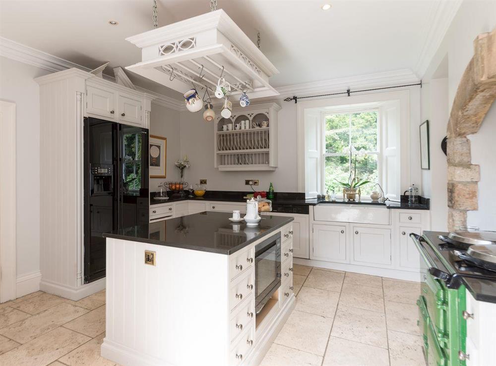 Kitchen at Howe Villa in Richmond, North Yorkshire