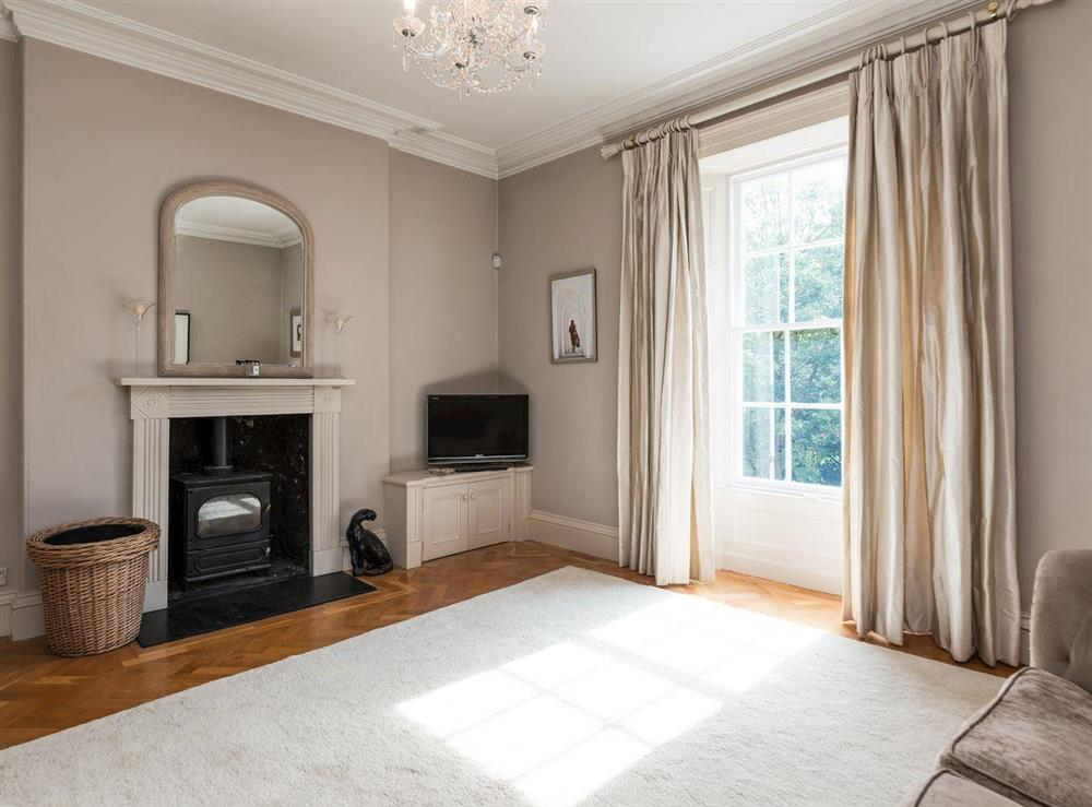 Living room at Howe Villa in Richmond, North Yorkshire
