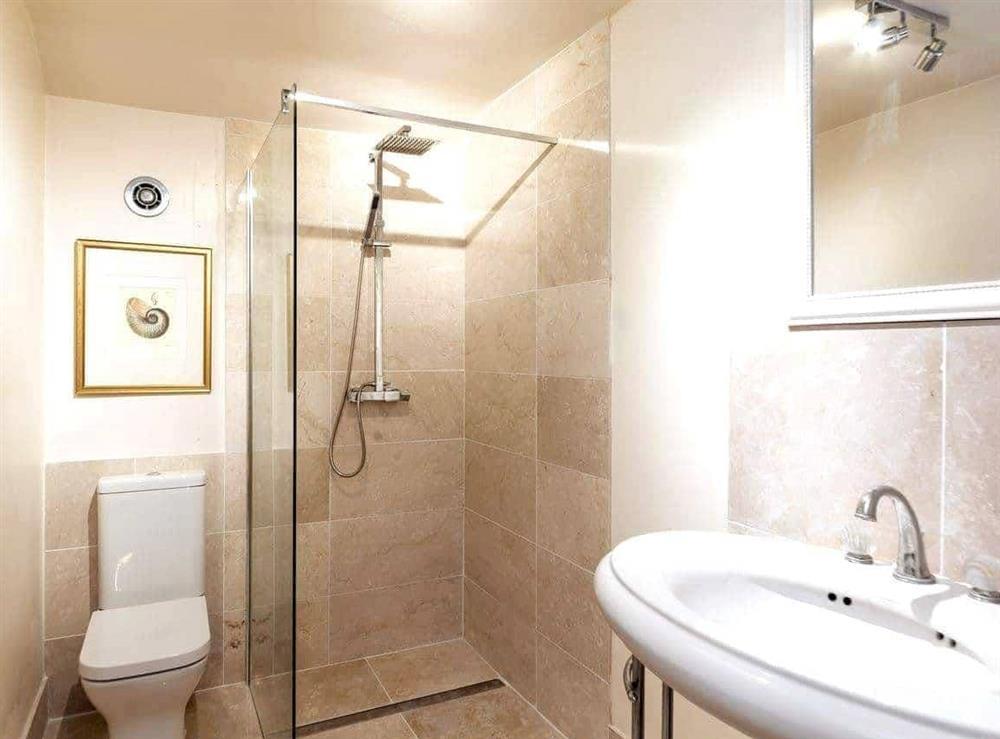 Shower room at Howe Villa in Richmond, North Yorkshire