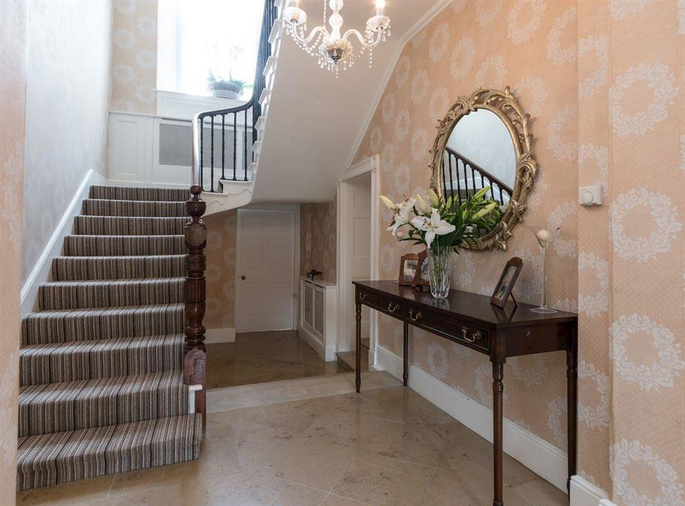 Stairs at Howe Villa in Richmond, North Yorkshire