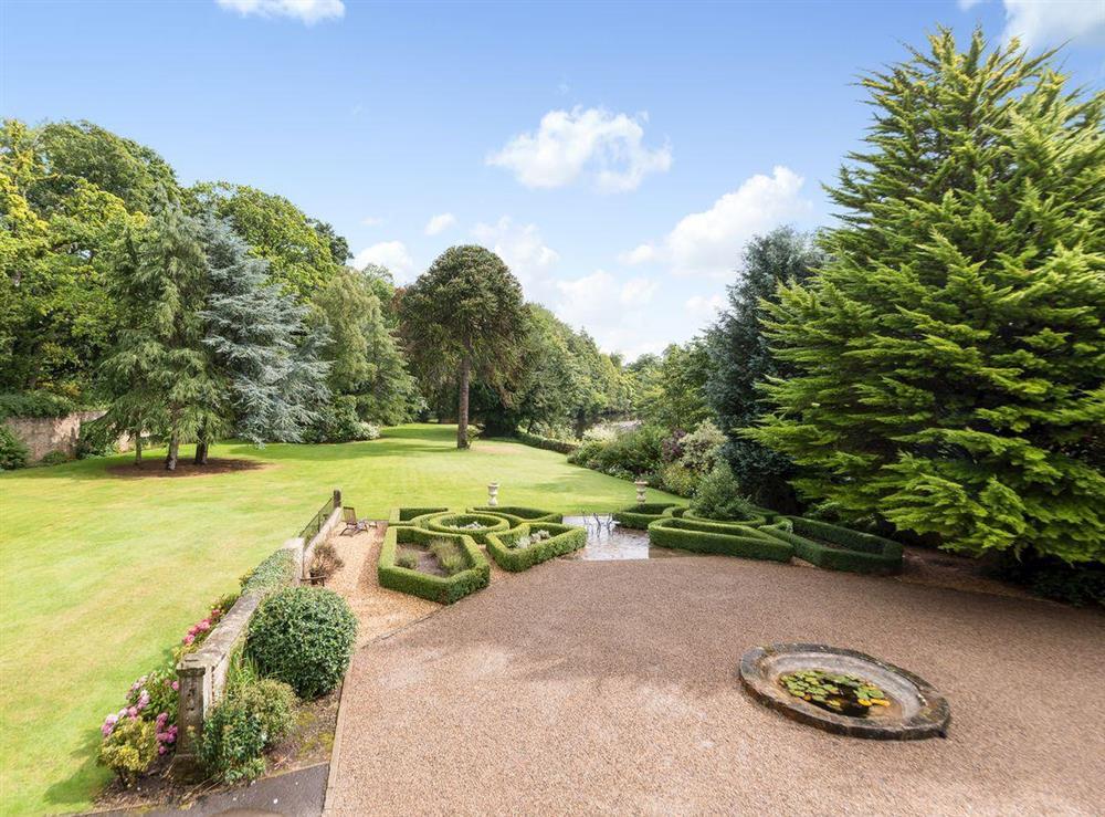 Wonderful gardens at Howe Villa in Richmond, North Yorkshire