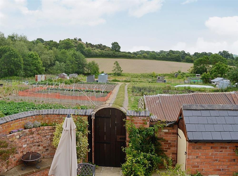 View at Hurdlemakers Loft in Upper Brailes, near Banbury, Warwickshire