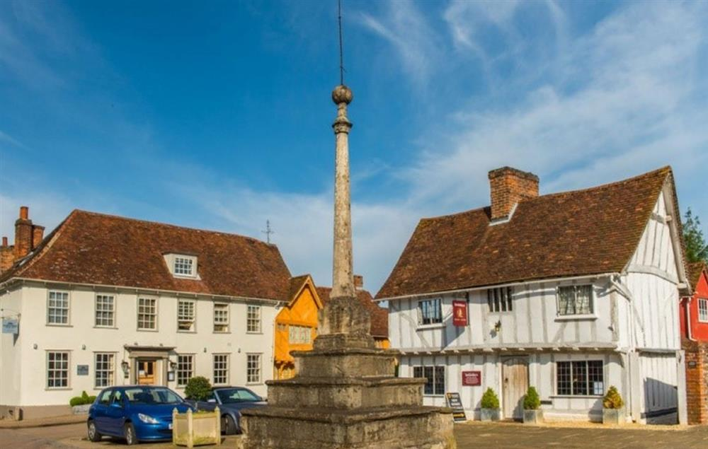 Discover the four-century history of Lavenham Guildhall and its market square