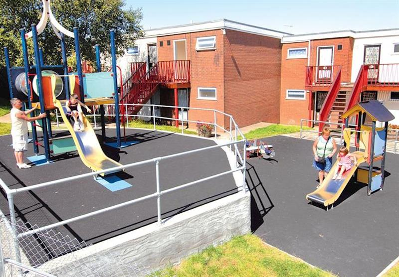 Children's play area at Ilfracombe Holiday Park in , Devon