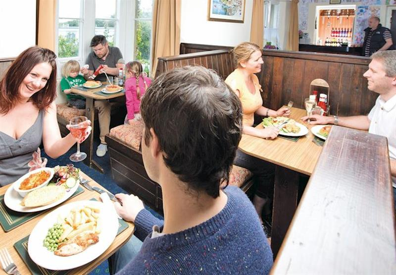 Restaurant at Ilfracombe Holiday Park in , Devon