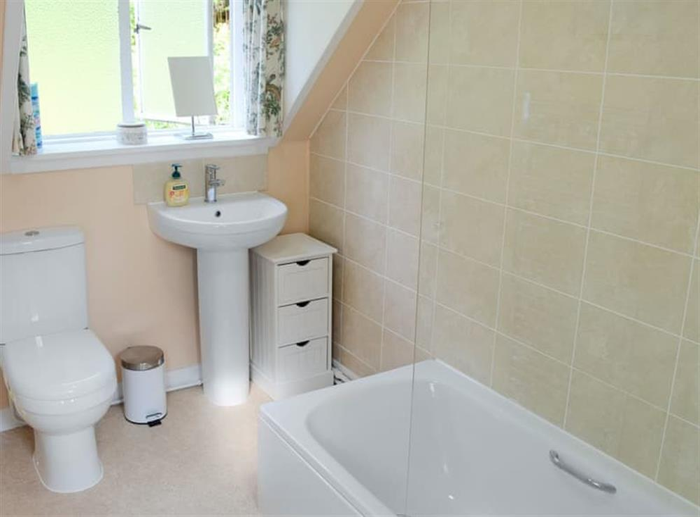 Bathroom at Inch Alla in Linside, near Lairg, Sutherland